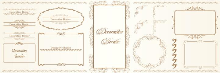 Printed kitchen splashbacks Butterflies in Grunge ヨーロッパ調のオーナメント・飾り罫・飾り囲み・背景テンプレート素材セット|ビンテージ・レトロ|Decorative border