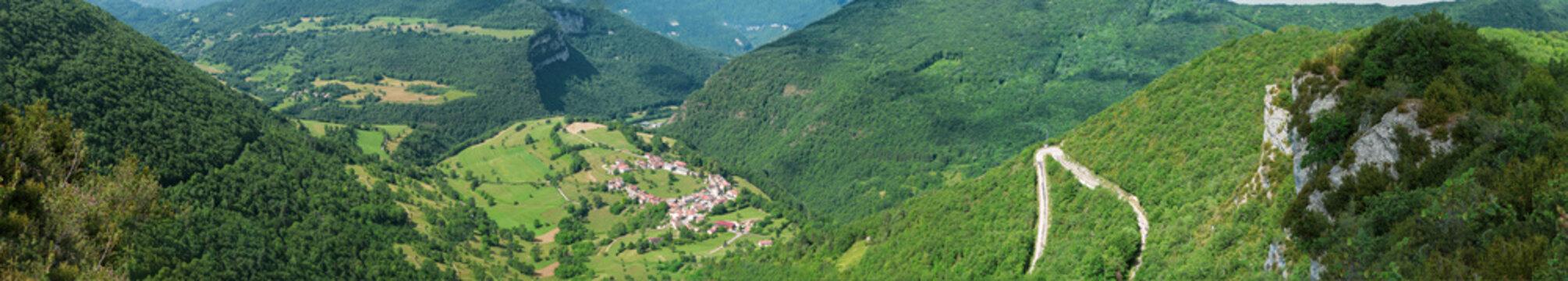 Série de photos sur les paysages du Bugey.
