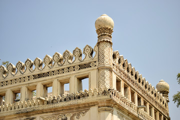 Ancient Antique 400 Years Old Sultan Seven Qutub Shahi Rulers of Hyderabad Seven Tomb Stock Photography Image Fototapete