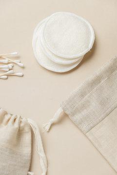 Reusable Cotton Pads. Cotton Washable Face Make Up Remover Pads