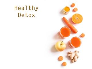 Detox orange drink