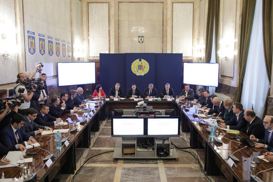 The National Commitee for Special Emergency Situations convenes to discuss new measures to limit the coronavirus spread in Romania