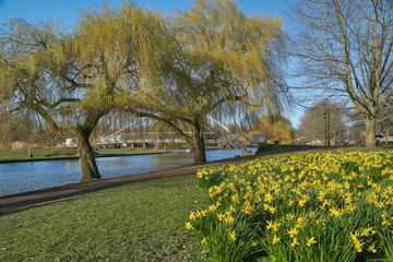 River Great Ouse, Bedford, UK