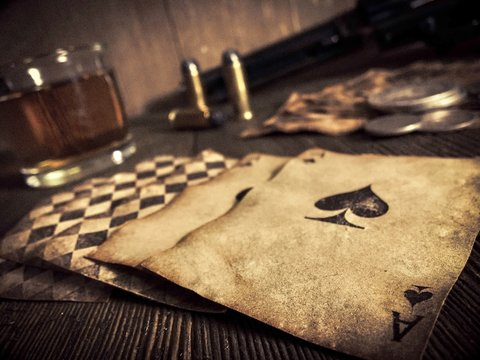Poker at the Old Saloon
