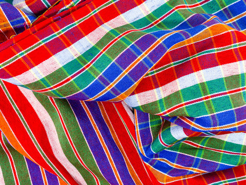 loincloth or Scottish Tissue style fabric is beautiful.full colors.