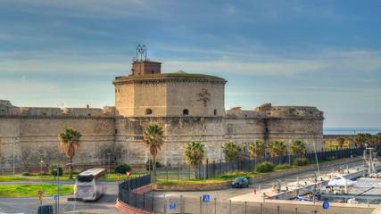 Fort de Michelangelo à Civitavecchia, Italie