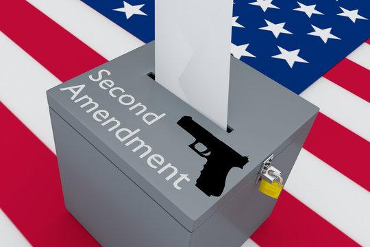 Second Amendment concept