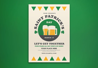 Saint Patrick's Day Flyer Layout