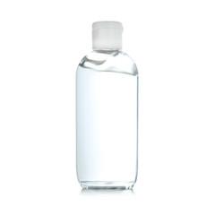 Photo sur Aluminium Bar Bottle of antibacterial hand gel on white background
