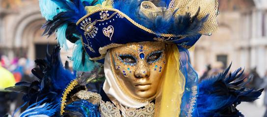Carnival of Venice, beautiful mask