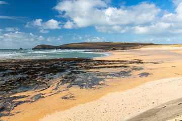 Wall Mural - Constantine Bay Cornwall England UK