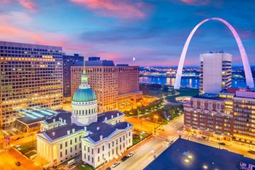 St. Louis, Missouri, USA Skyline