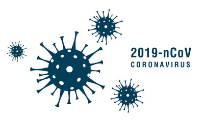 Poster Wall Decor With Your Own Photos Coronavirus 2019-nCoV. Corona virus icons. Vector illustration