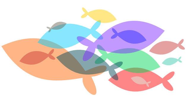 Ban de poisson en transparence