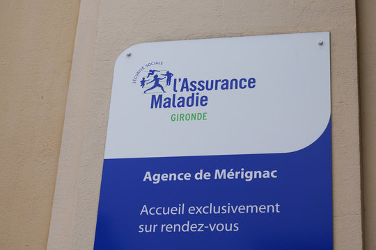 assurance maladie logo sign social security text Illness branch