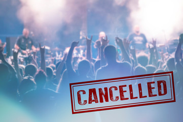 Stores à enrouleur Inde Concert cancelled because of Coronavirus outbreak