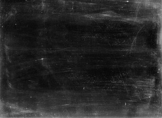 Obraz Old photographic paper useful as a layer in a photo editor - very coarse dust and scratches - fototapety do salonu