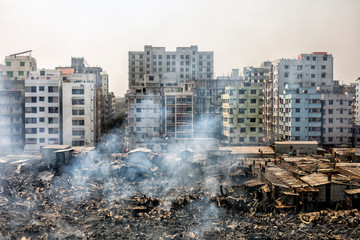 Fire Accident in Mirpur, Bangladesh