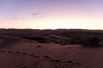 Keuken foto achterwand Zandwoestijn preety sunset in the desert