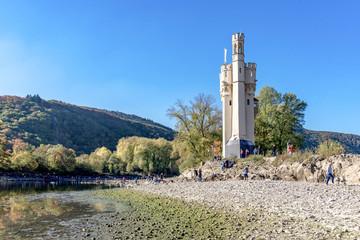 Mouse Tower Bingen Rhineland-Palatinate UNESCO World Cultural Heritage
