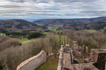 Wall Mural - Burg Hohengeroldseck Seelbach