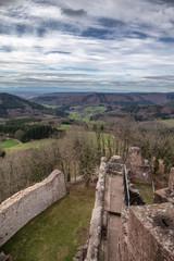 Fototapete - Burg Hohengeroldseck Seelbach