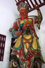 Giant guardian at Guangxiao Temple, Guangzhou