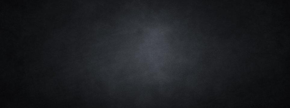 Black background with paper or old vintage chalkboard texture illustration for website backgrounds, antique dark charcoal gray color