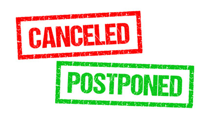 Canceled / Postponed
