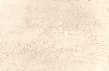 Old grunge vintage paper texture with scratches for background in the beige colours.