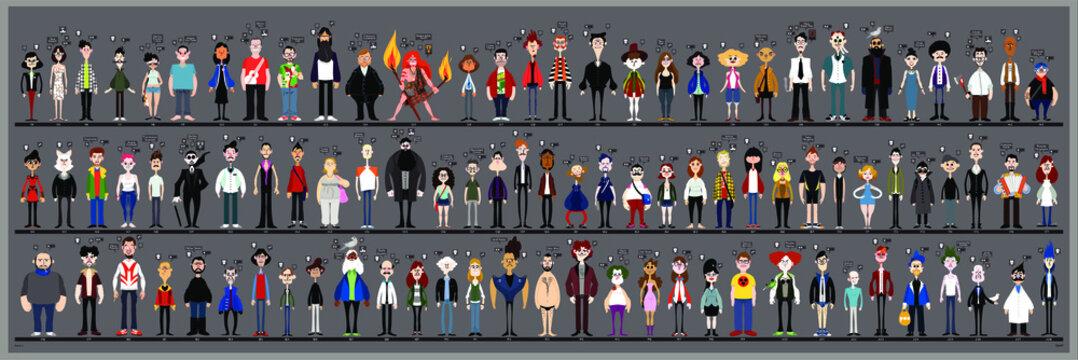 Personaggi e caricature serie 2