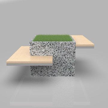 Parametric Street Bench