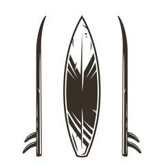 Surf board ornament graphic surfing hawaii board