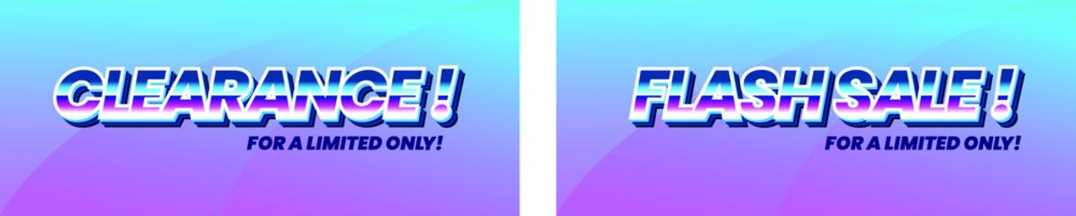 Flash Sale, web banner design template, discount horizontal poster, vector illustration