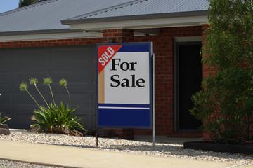 For sale sign Australia generalised