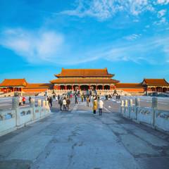 Taihemen (Gate of Supreme Harmony) in the Forbidden city, Beijing, China