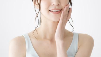 Obraz 女性 美容 歯 ホワイトニング - fototapety do salonu