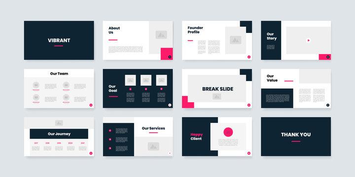 powerpoint and keynote presentation slides design template