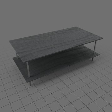 Modern wooden table 1