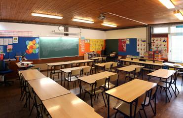interior of elementary school