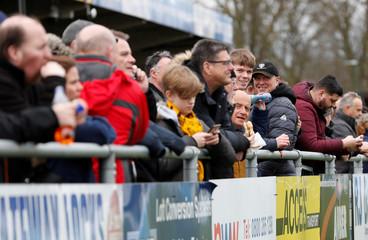 Conference Premier - Sutton United v Hartlepool United