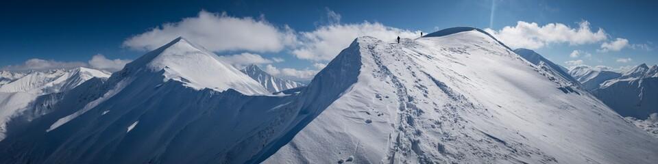 Tatry Zachodnie - zima 2020 Fotobehang