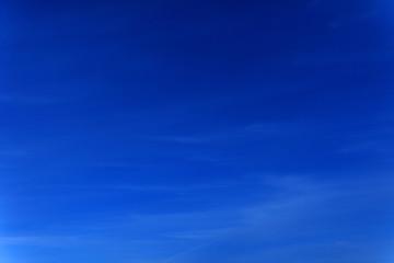 Poster Donkerblauw 雲