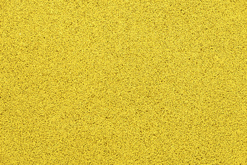 yellow rubber crumb surface