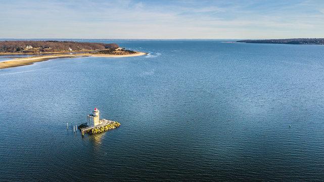 Aerial North Shore Long Island