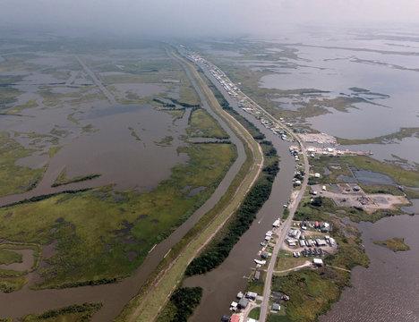 Atchafalaya River Delta, Cocodrie, Louisiana