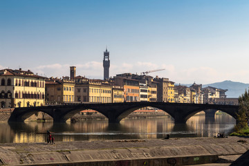 Fototapete - capital city of the Tuscany region