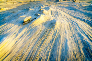 Alwathba Fossil Dunes in UAE