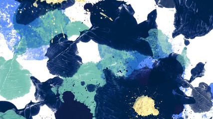 抽象的なイラスト 絵の具のイメージ