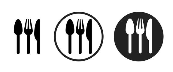 restaurant icon . web icon set .vector illustration Wall mural